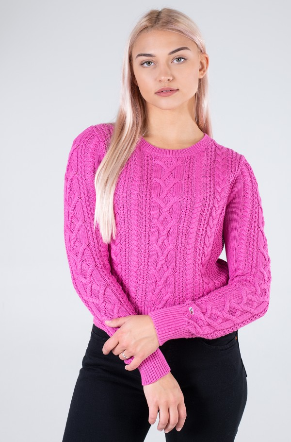 TJW CABLE SWEATER
