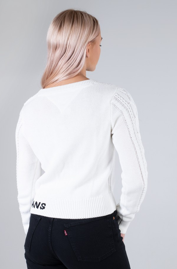 TJW CABLE SWEATER-hover