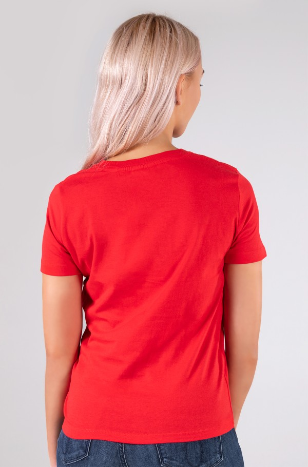 SMALL CK C-NECK TOP-hover