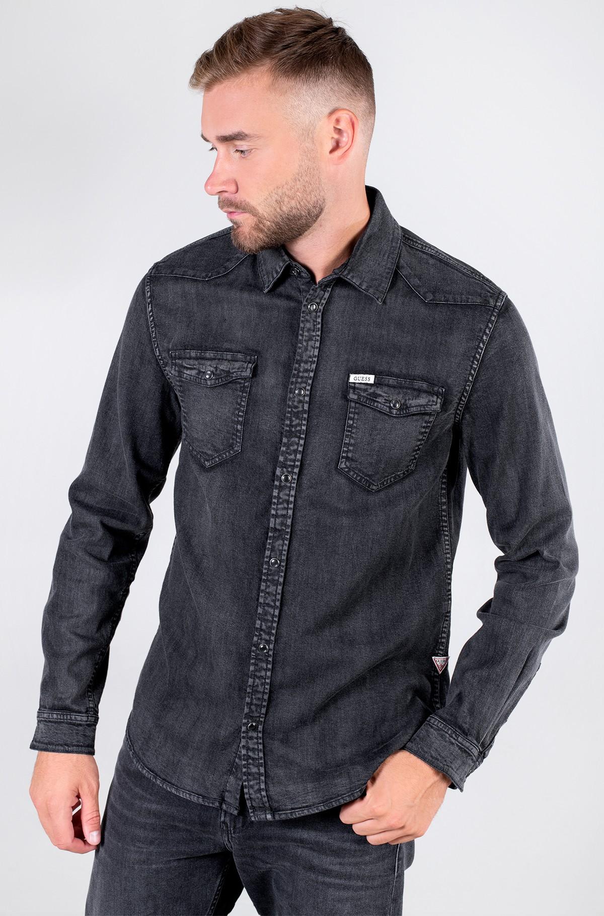 Džinsiniai marškiniai  M1YH02 D4F31-full-1