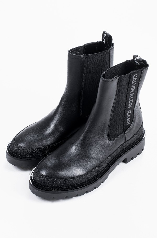 COMBAT MID CHELSEA BOOT RUBBER-hover