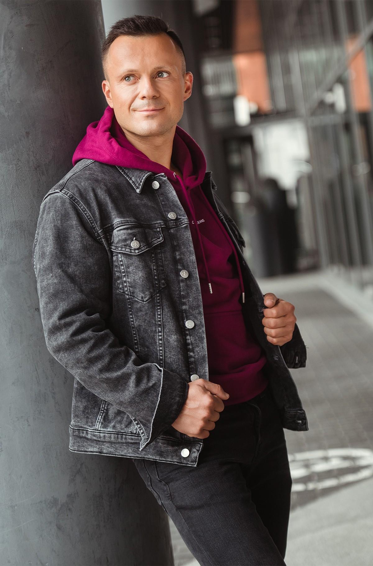 Denim jacket MODERN ESSENTIAL DENIM JACKET-full-1
