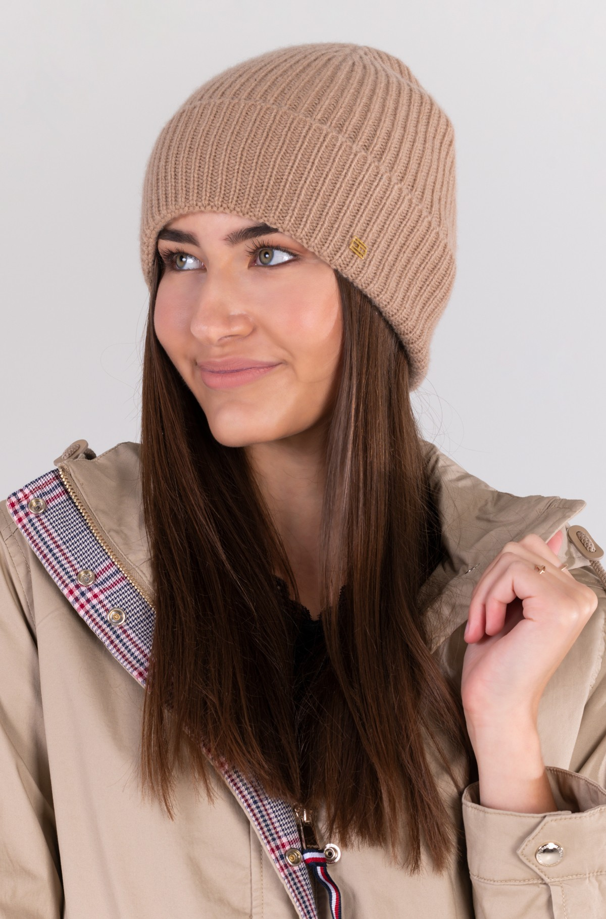 Hat TH LUX CASHMERE BEANIE-full-1