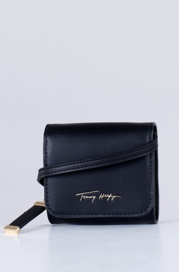 ICONIC TOMMY MINI WALLET SIGN-hover