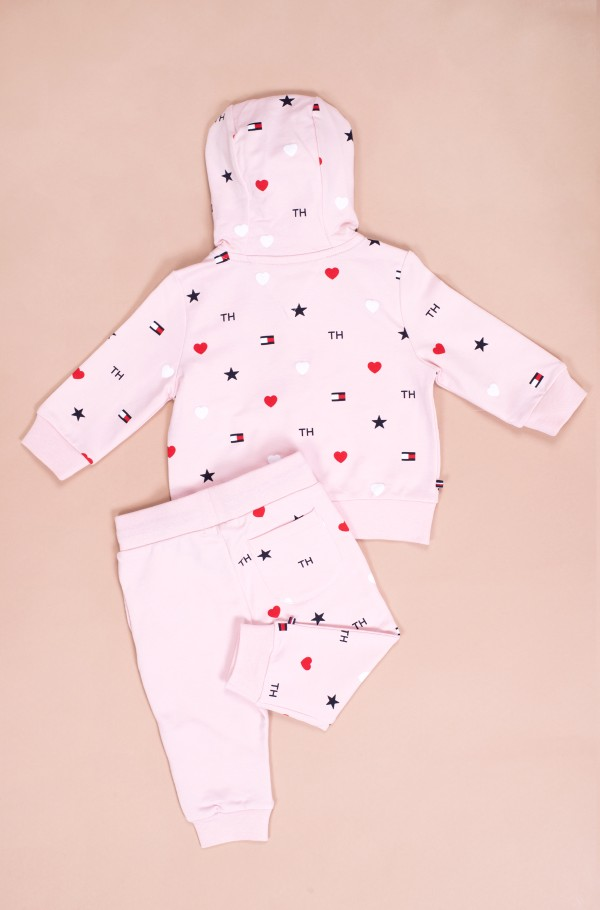 BABY FLAG HOODED JOGGER SET-hover