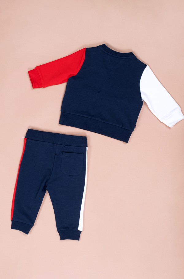 BABY COLORBLOCK JOGGER SET-hover