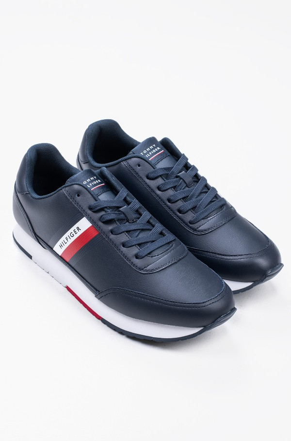 ESSENTIAL RUNNER STRIPES LEATHER-hover