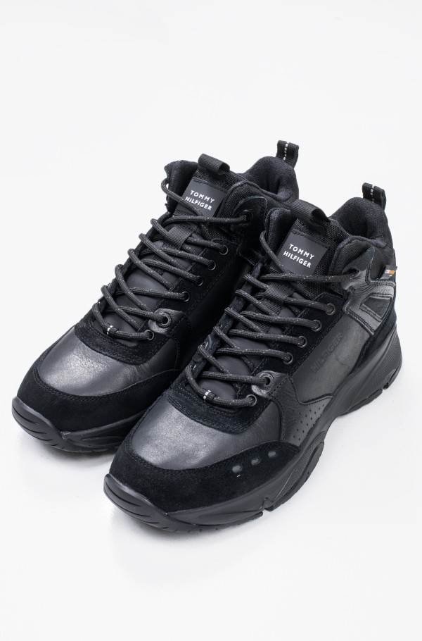 HIGH SNEAKER BOOT LEATHER