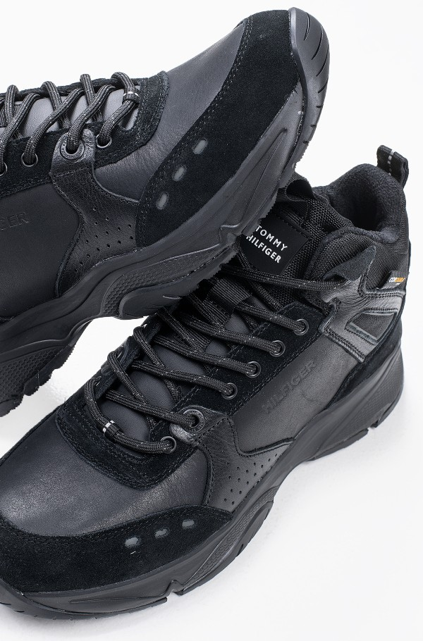 HIGH SNEAKER BOOT LEATHER-hover