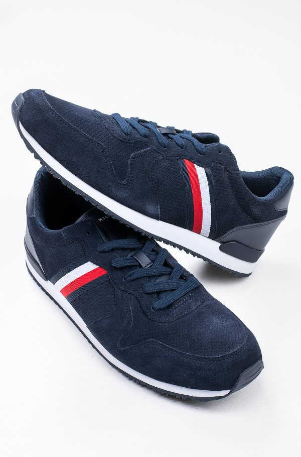 ICONIC SUEDE RUNNER STRIPES