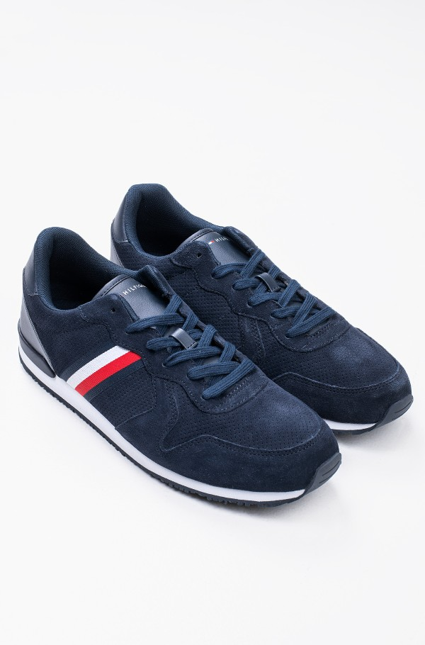 ICONIC SUEDE RUNNER STRIPES-hover