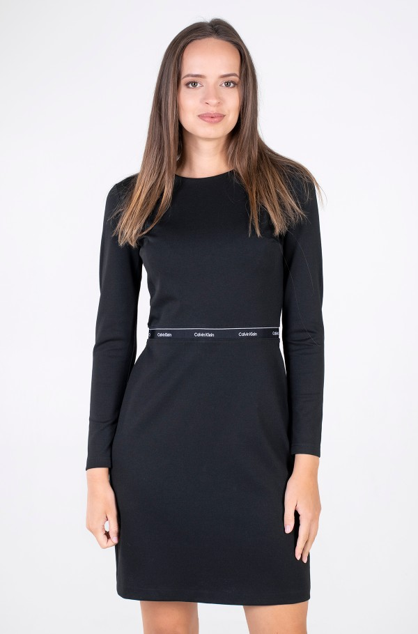 RECYCLED MILANO LS DRESS