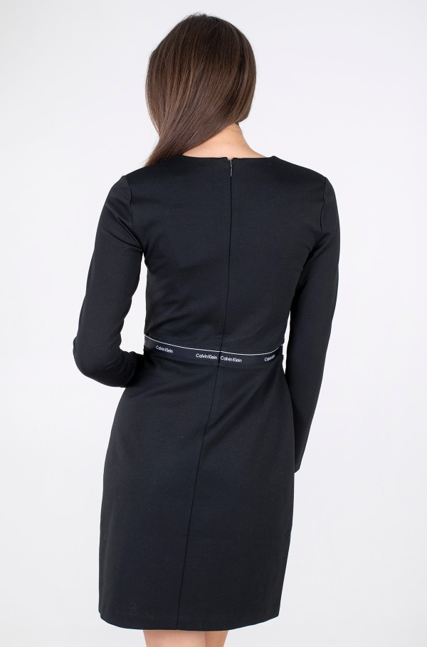 RECYCLED MILANO LS DRESS-hover
