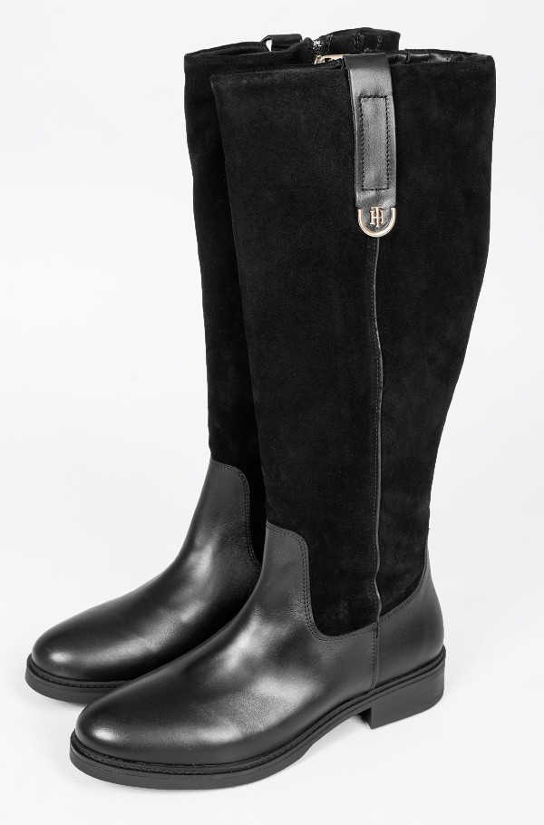 TH HARDWARE SUEDE LONGBOOT
