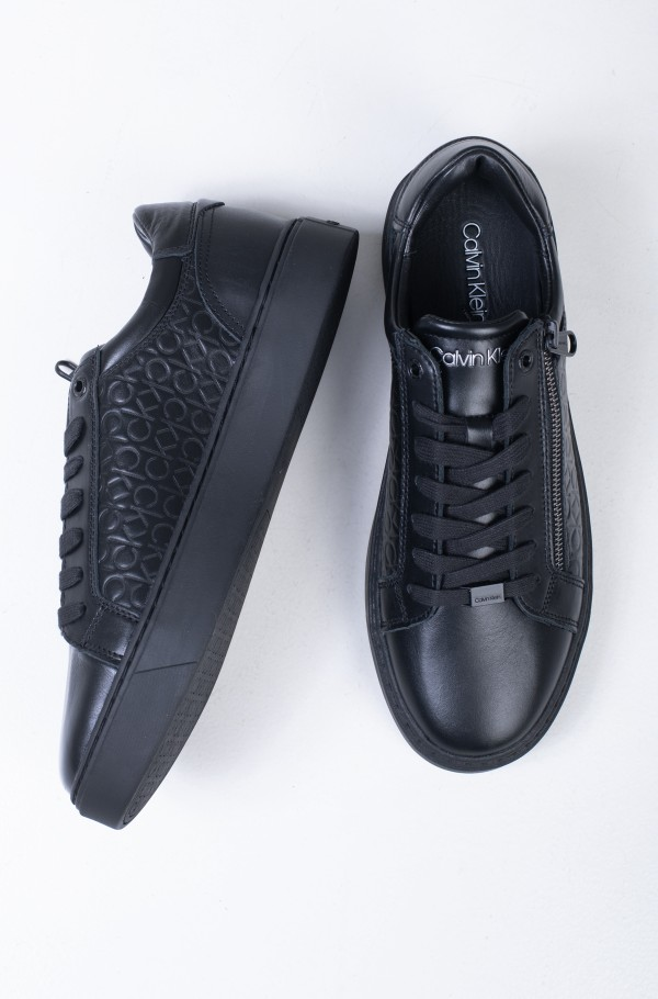 LOW TOP LACE UP W/ZIP