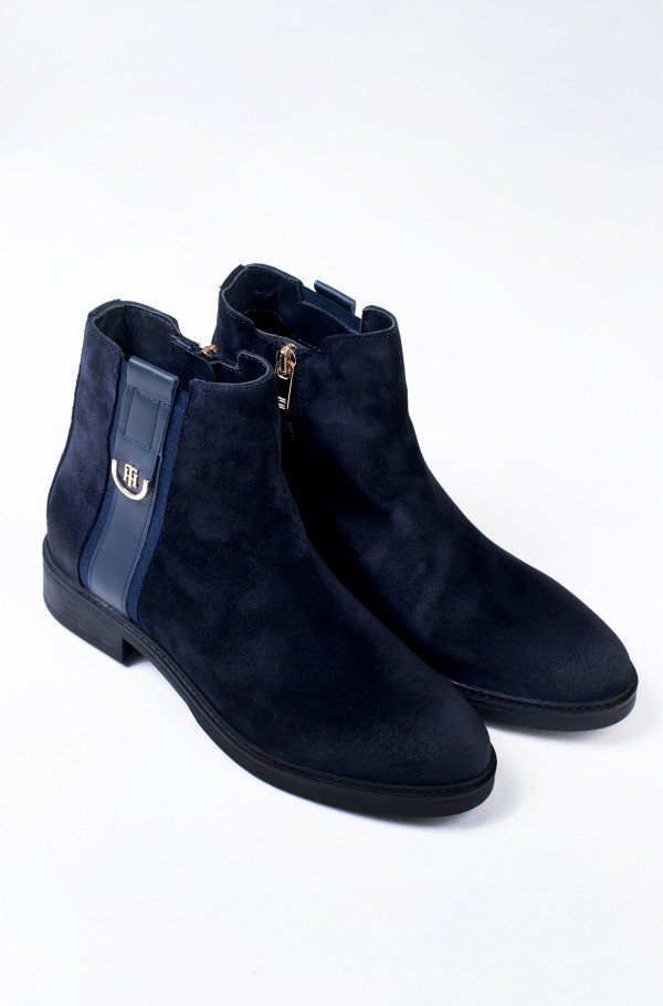 TH HARDWARE SUEDE FLAT BOOT