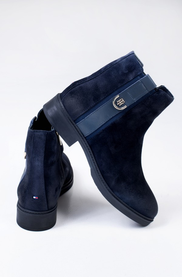 TH HARDWARE SUEDE FLAT BOOT-hover