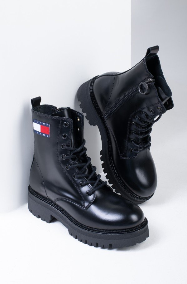 URBAN TOMMY JEANS LACE UP BOOT