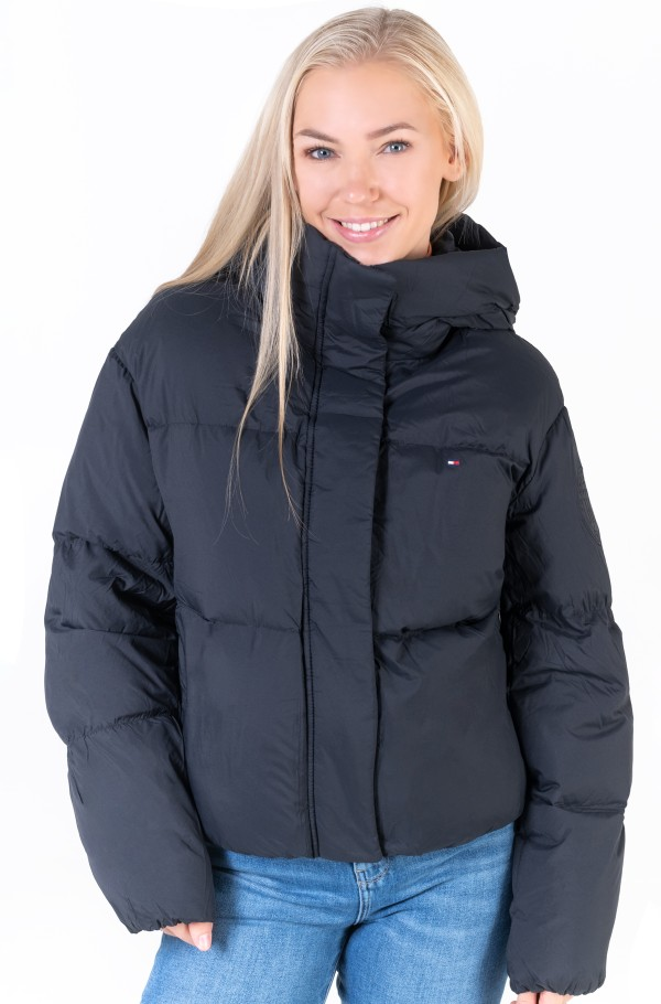 NYLON DOWN PUFFER JACKET-hover